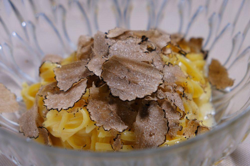 Pasta con il tartufo - Al Santa Giulia Trattoria - Brescia